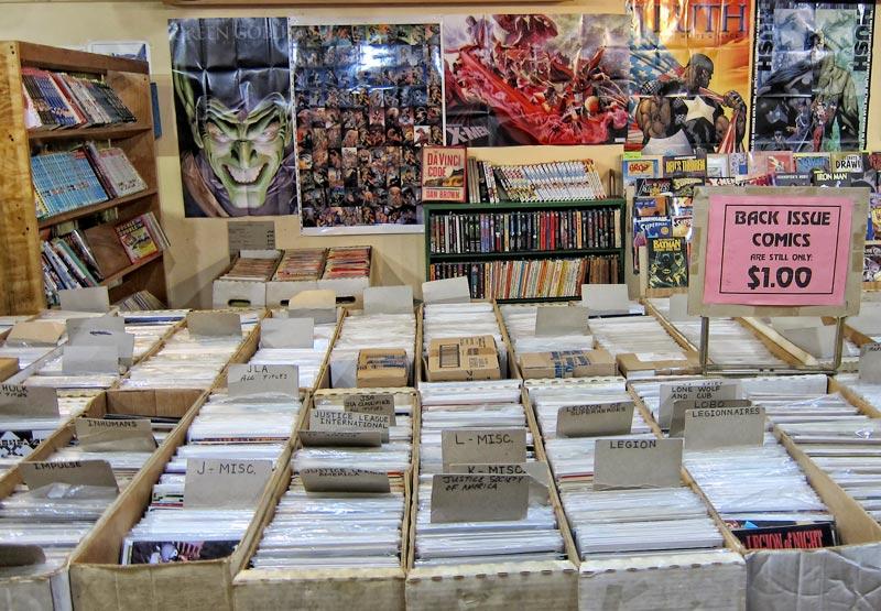 Back Issue Comics